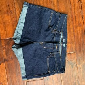 Old Navy shorts 2 dark wash